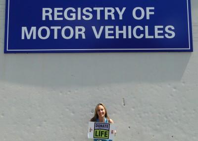 Lauren Meizo - RMV Donate Life  Ambassador